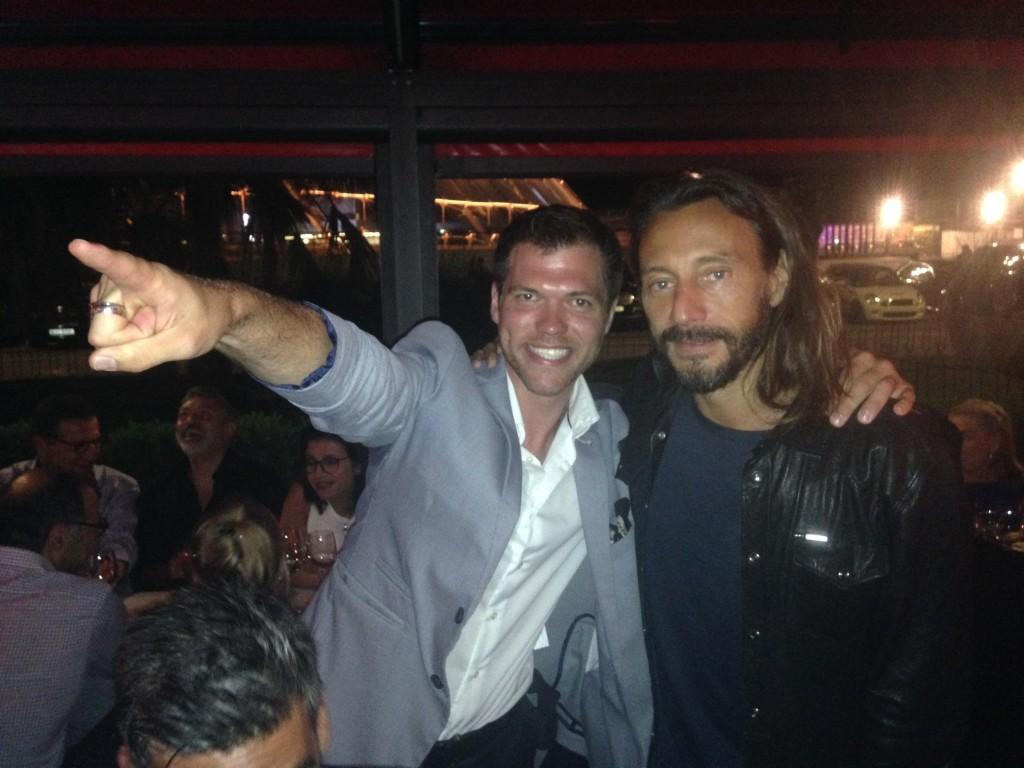 Monaco club party Magic Show