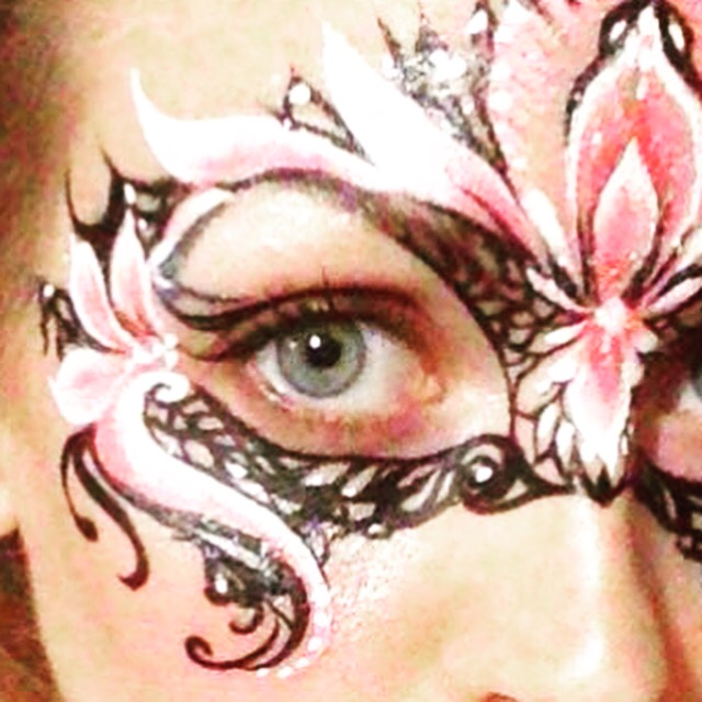 lin face painting Monaco