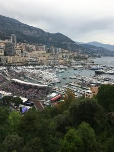Un magicien pour le grand prix de Monaco